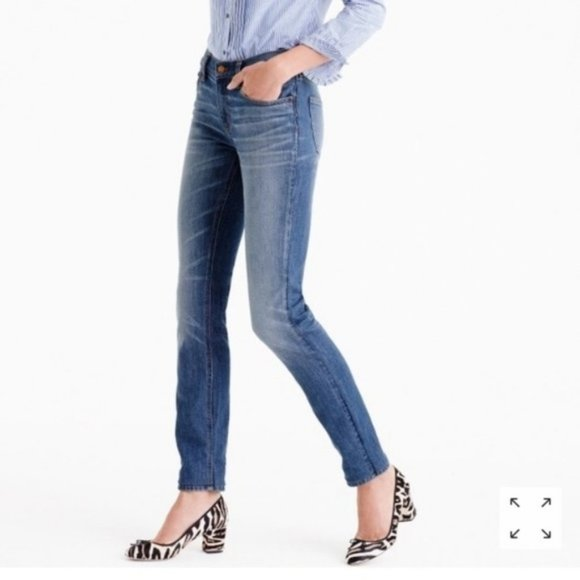 J. Crew Matchstick denim straight leg jeans